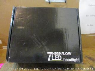7 High/Low LED headlight