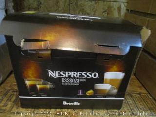 Nespresso essenza Mini & aeroccino3