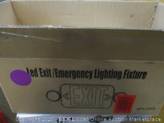 Led Exit/emergency Lighting Fixture