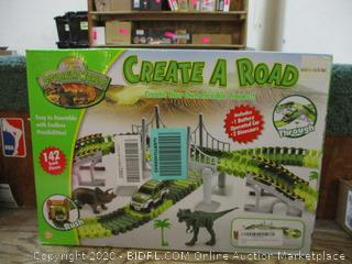 Dinosaur Create A Road