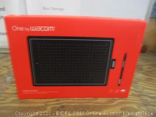 One by WACOM Creative Pen Tablet