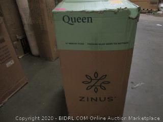 """Zinus 14"""" Memory Foam Mattress, Queen"""