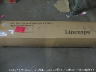 """Linenspa 10"""" Spring and Memory Foam Mattress, Queen"""