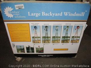 Large Backyard Windmill