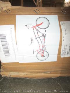 """26"""" Dual Drive Tandem Bike"""