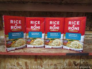 4x Boxes Rice-a-Roni Chicken Broccoli