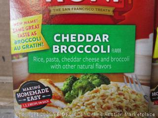 4x Boxes Rice-a-Roni Cheddar Broccoli