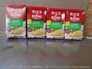 4x Boxes Rice-a-Roni Cheddar Broccoli