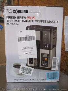 Zojirushi Fresh Brew Plus Coffee Maker (retail $150)