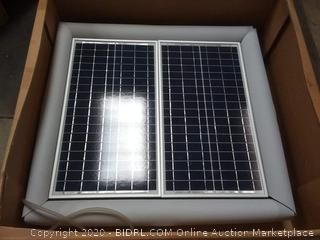 Natural Current Savior Ozone Aerator Pool Spa Pond Solar Powered Filter System, 60-watt(Retails $1,200)(cubby 2)