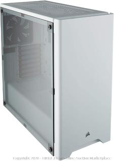 CORSAIR Carbide 275R Mid-Tower Gaming Case, Window Side Panel- White(Retails $79.99)