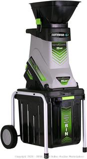 Earthwise GS70015 15-Amp Garden Corded Electric Chipper/Shredder (powers on)(Retails $129)