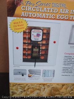Farm Innovators 4250 40W Pro Incubator(Retails $232)