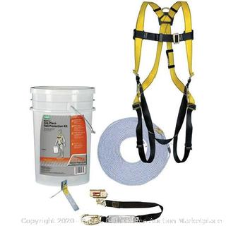 Safety Works 6 piece fall protection kit (manufactured sealed)