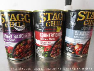 Misc. Lot Stagg Chili