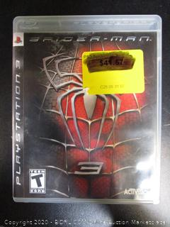 PS3 Game Spider-Man 3