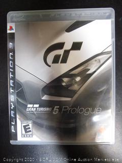 PS3 Game Gran Turismo 5 Prologue