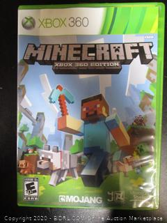 Xbox 360 Game Minecraft