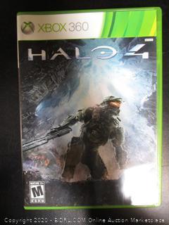 Xbox 360 Game Halo 4