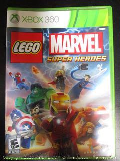 Xbox 360 Game Lego Marvel Super Heroes
