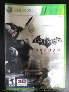 Xbox 360 Game Batman Arkham City