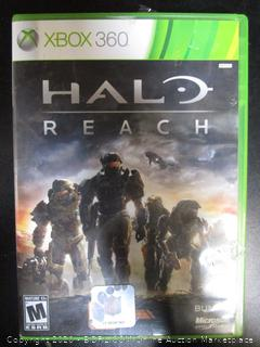 Xbox 360 Game Halo Reach
