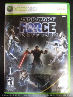Xbox 360 Game Star Wars The Force Unleashed
