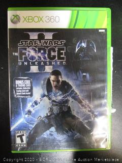 Xbox 360 Game Star Wars The Force Unleashed II