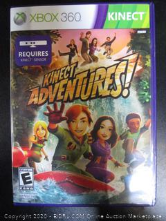Xbox 360 Game Kinect Adventures