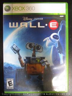 Xbox 360 Game Wall E