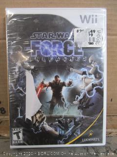 Wii Game Star Wars The Force Unleashed