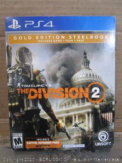 PS4 Game Tom Clancy's The Division 2