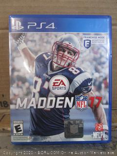 PS4 Game Madden NFL 17