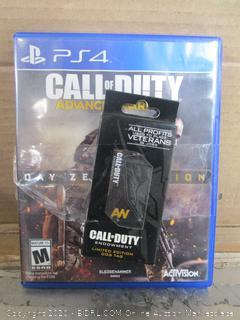 PS4 Game Call of Duty Advanced Warfare Day Zero