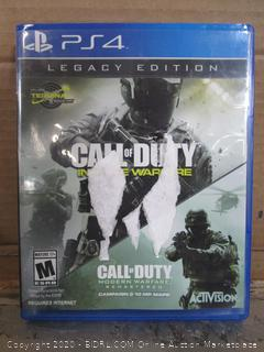 PS4 Game Call of Duty Infinite Warfare