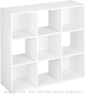 ClosetMaid 421 Cubeicals Organizer, 9-Cube, White