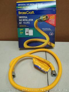 brasscraft universal gas installation kit 48 in length