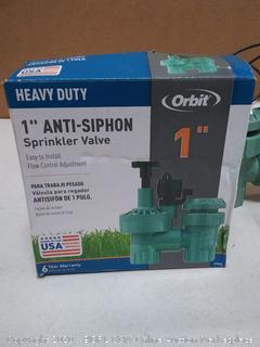 heavy duty 1 inch anti siphon sprinkler valve