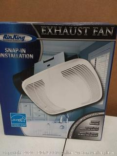air King ventilation products snapping insulate dilation exhaust fan