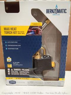 BernzOmatic Max heat torch kit