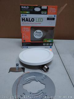 Halo LED surface mount downlight