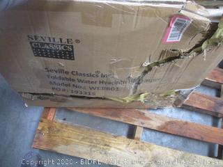 Foldable Water Hyacinth Hamper