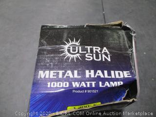 Metal Halide 1000 Watt Lamp