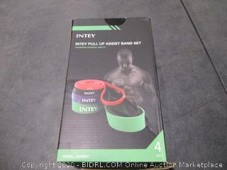 Intey Pull Up Assist Band Set