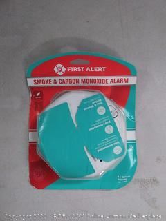 First Alert smoke and carbon monoxide alarm