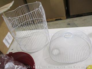 Prevue Hendryx- Classic Round Bird Cage (bent, please see pictures)