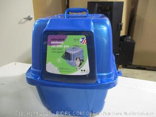 Vanness-Extra Giant Enclosed Cat Litter Pan