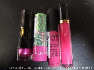 Misc. Lot Cosmetics: Lipstick, Lip Gloss