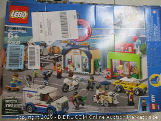 Lego - City 60233 Donut Shop Opening Build Set