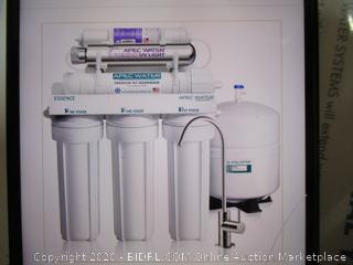 Apec pH+ Alkaline Mineral UV Sterilizer Under Sink Drinking Water System ($309 Retail)